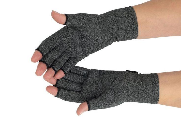 fingerless compression gloves